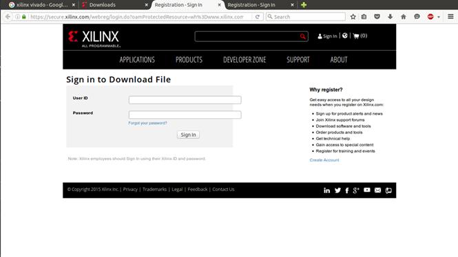 Xilinx Vivado WebPACK